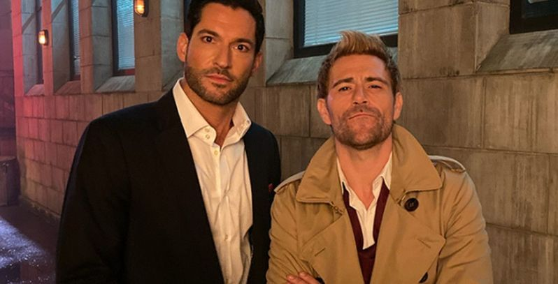 Lucifer & Constantine In New Series? Tom Ellis & Matt Ryan Would Be Quite A Team