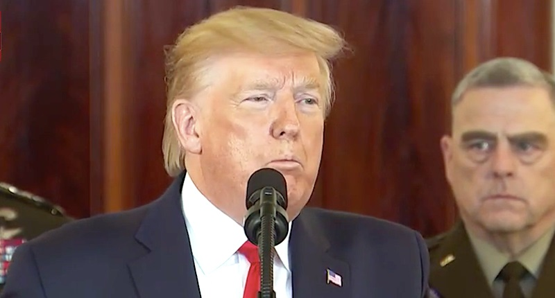 """""""What Drugs Is He On?"""" Trump Slurs & Sniffs During Speech – Is It Adderall?"""