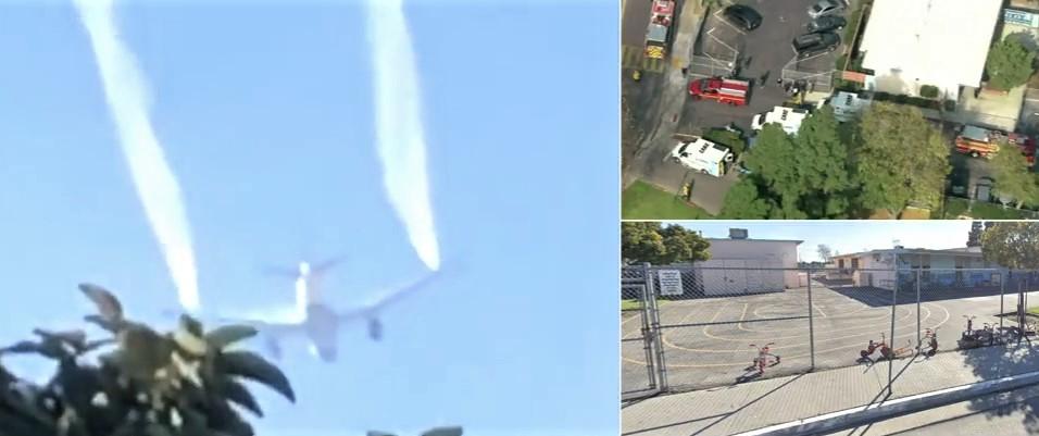 Delta Boeing 777 Dumps Jet Fuel On Elementary School During Landing – 17 Children Hurt