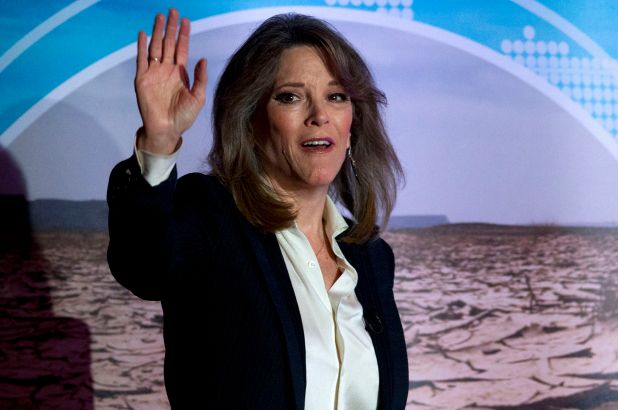 """Marianne Williamson Fails To Beat """"Dark Psychic Force"""" & Exits Presidential Race"""