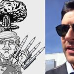"""Tom Ellis Posts Cartoon Of Trump At War – """"I'm Praying For The World Right Now"""""""