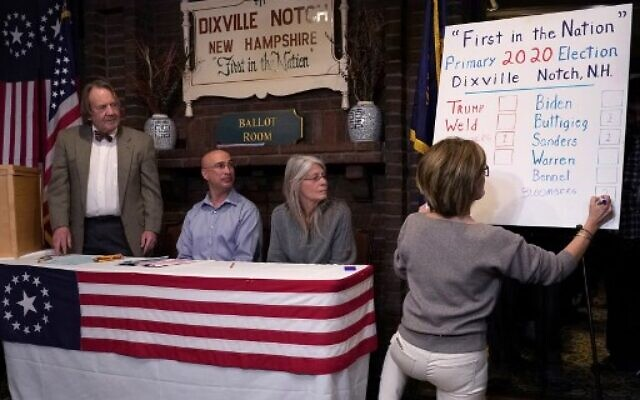 BLOOMBERG Wins Historic Dixville Notch Vote – First Precinct From New Hampshire