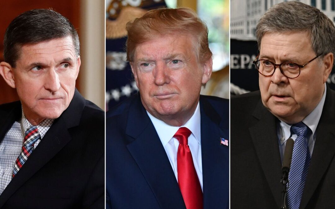 Michael Flynn ADMITTED Guilt, But Now Barr Demands REVIEW Of FBI – Trump Loves It