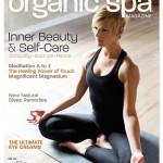 Organic Spa Magazine cover 2016