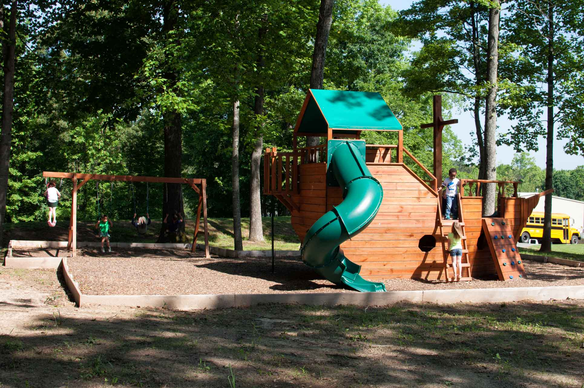 Playground-at-Faith-Christian-Academy-Burlington-Private-School-