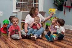 Private-Christian-Preschoolers-Reading-Book