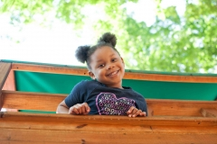 Private-Christian-School-Kindergarten-Student-Smiling-on-Playground-Faith-Christian-Academy-Located-Between-Burlington-and-Greensboro-NC