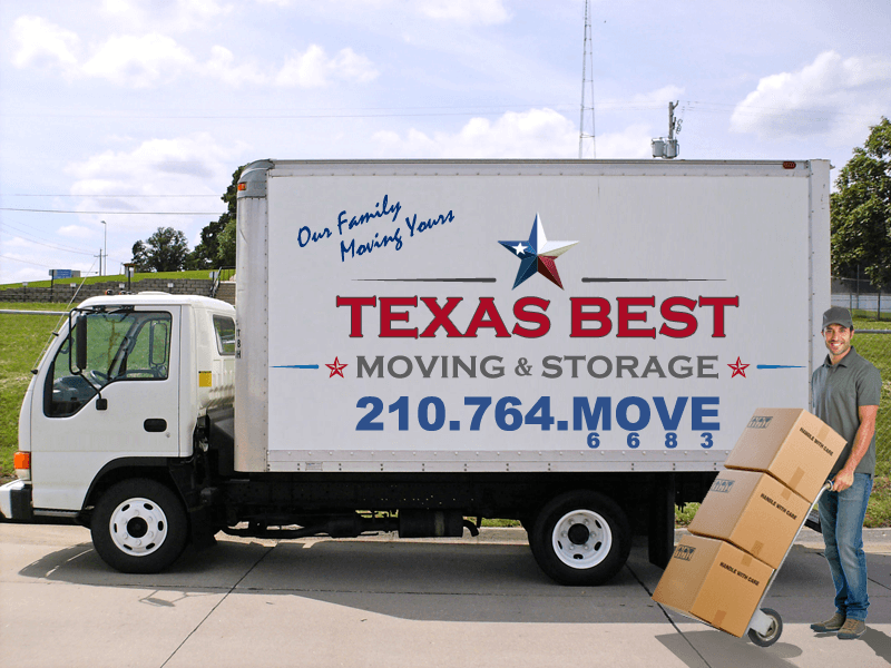 Moving Truck in Converse