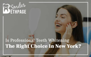 Is Professional Teeth Whitening The Right Choice In New York?