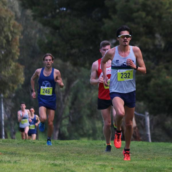 Matt Clark takes the lead