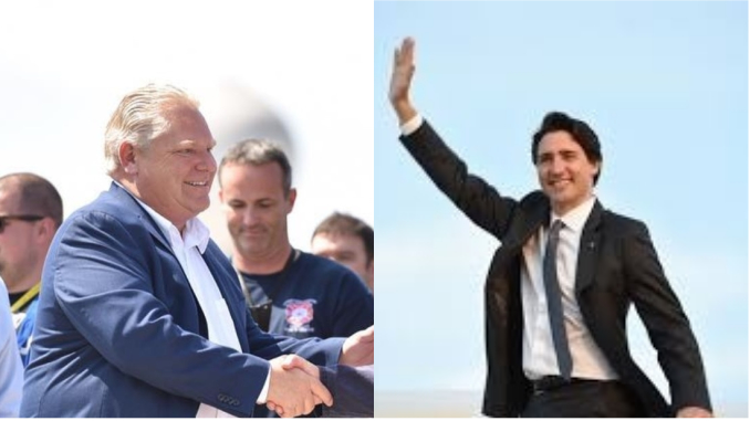 The 2019 election could be Doug Ford vs Justin Trudeau in many ways.