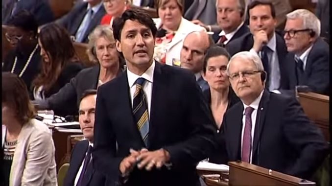 Justin Trudeau responds to questions on the Trans Mountain pipeline purchase.