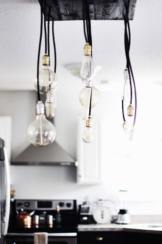 DIY Industrial Chandelier // Charleston Fashion Blogger Dannon Like The Yogurt