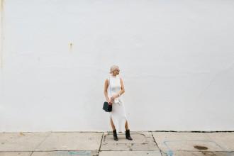 Mummified in Ganni Turtleneck Midi Dress Fall 2015 // Charleston Fashion Blogger Dannon Like The Yogurt