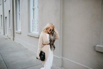 NYFW: Trousers + Faux Furs SS16 AW16 Street Style // Charleston Fashion Blogger Dannon Like The Yogurt
