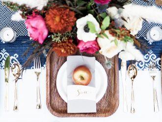 70's Friendsgiving themed Thanksgiving // Charleston Fashion Blogger Dannon K. Collard Like The Yogurt Wedding Fall inspiration tablescape table setting dinner