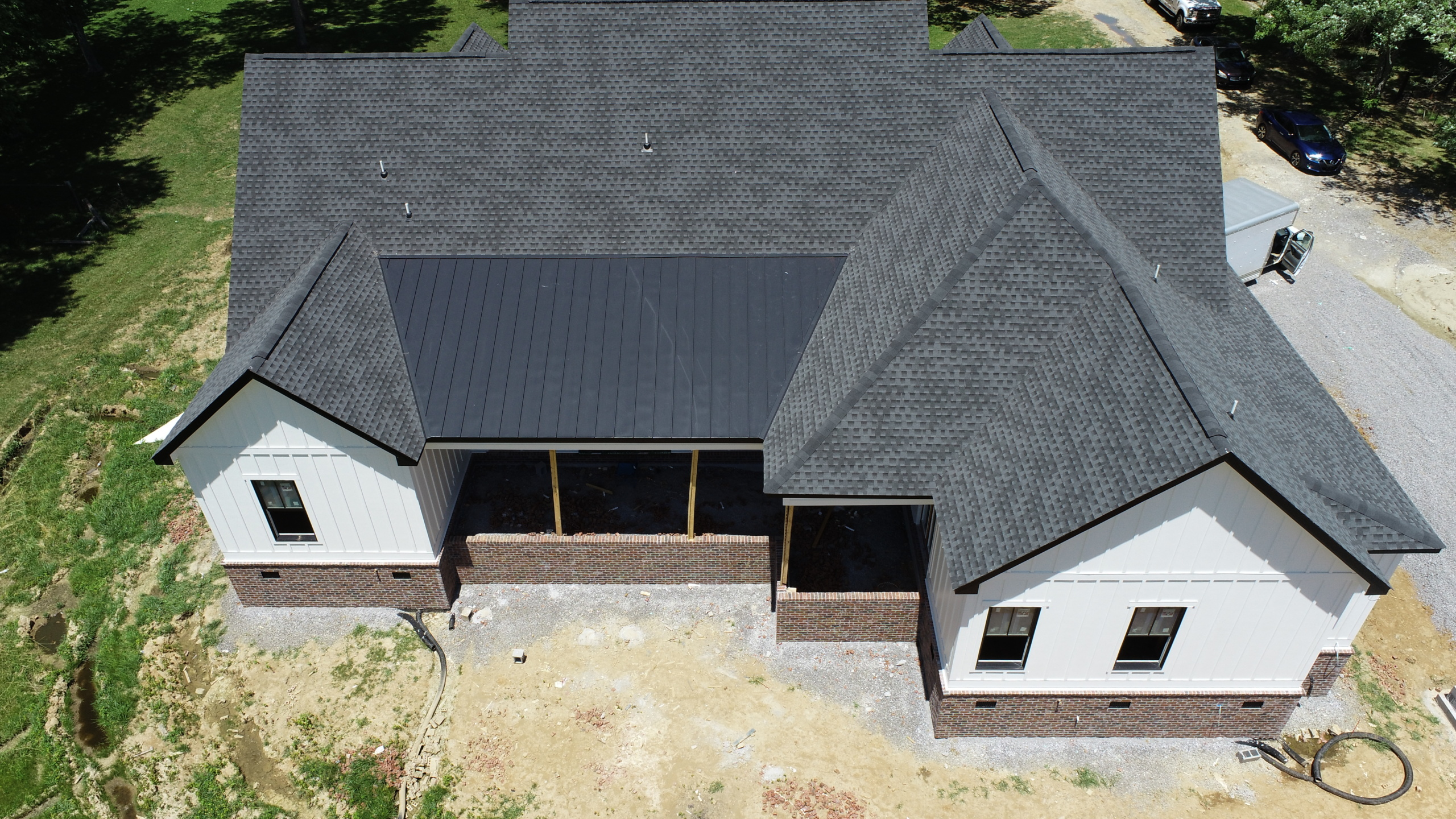 Black Metal Roofing Murfreesboro 1