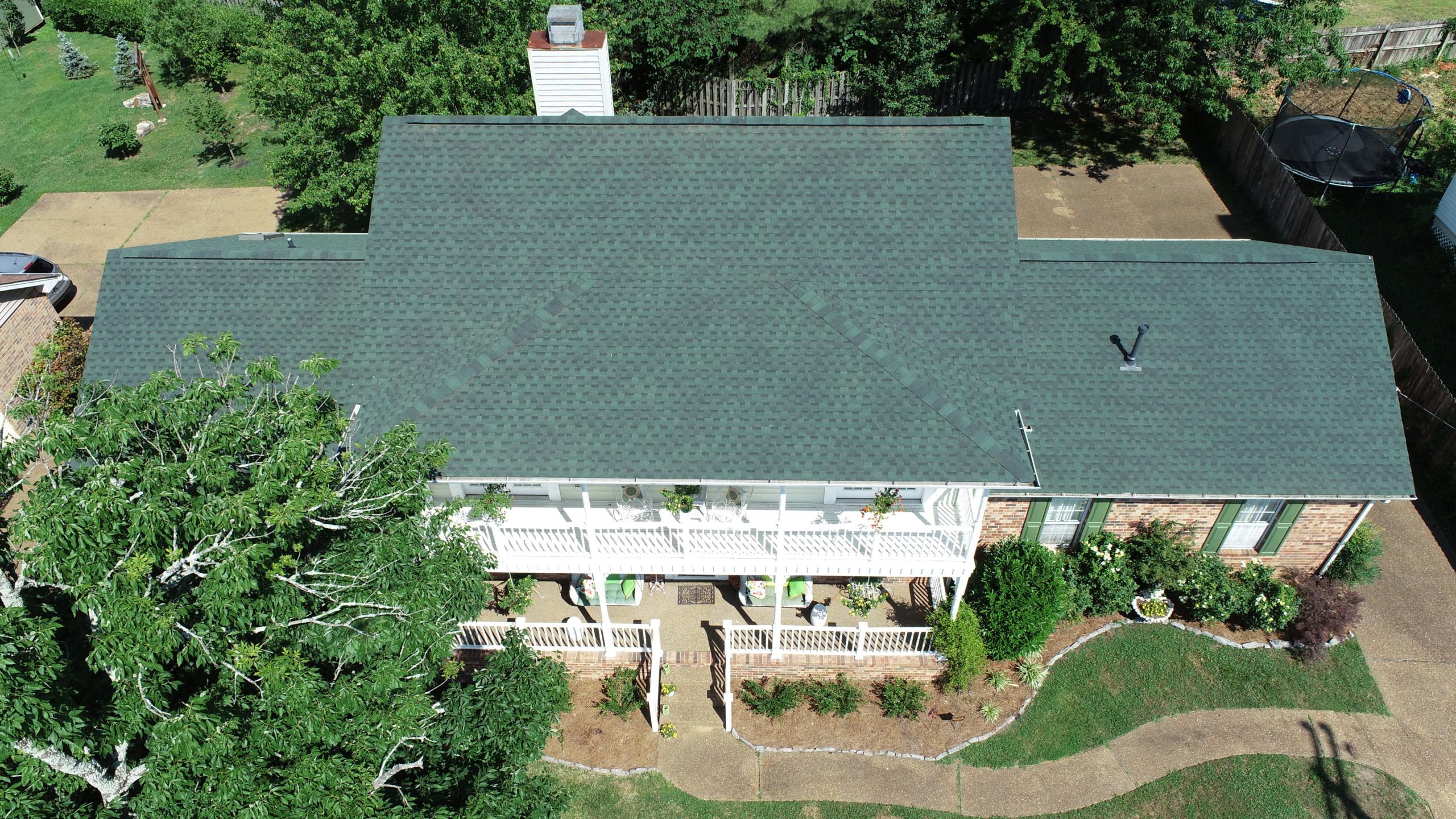 Murfreesboro Roofers GAF Timberline Hunter Green 1