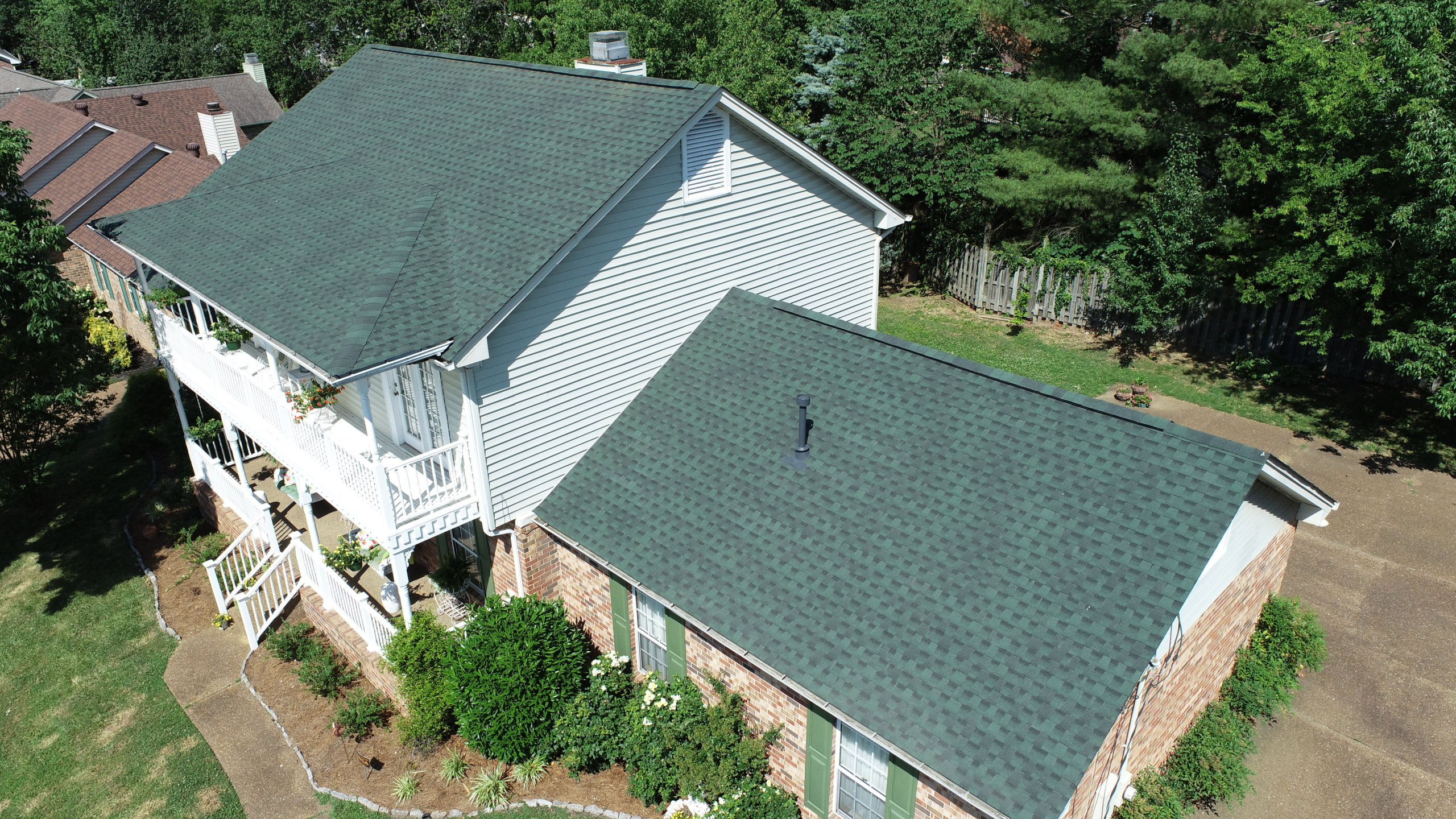 Murfreesboro Roofers GAF Timberline Hunter Green 2