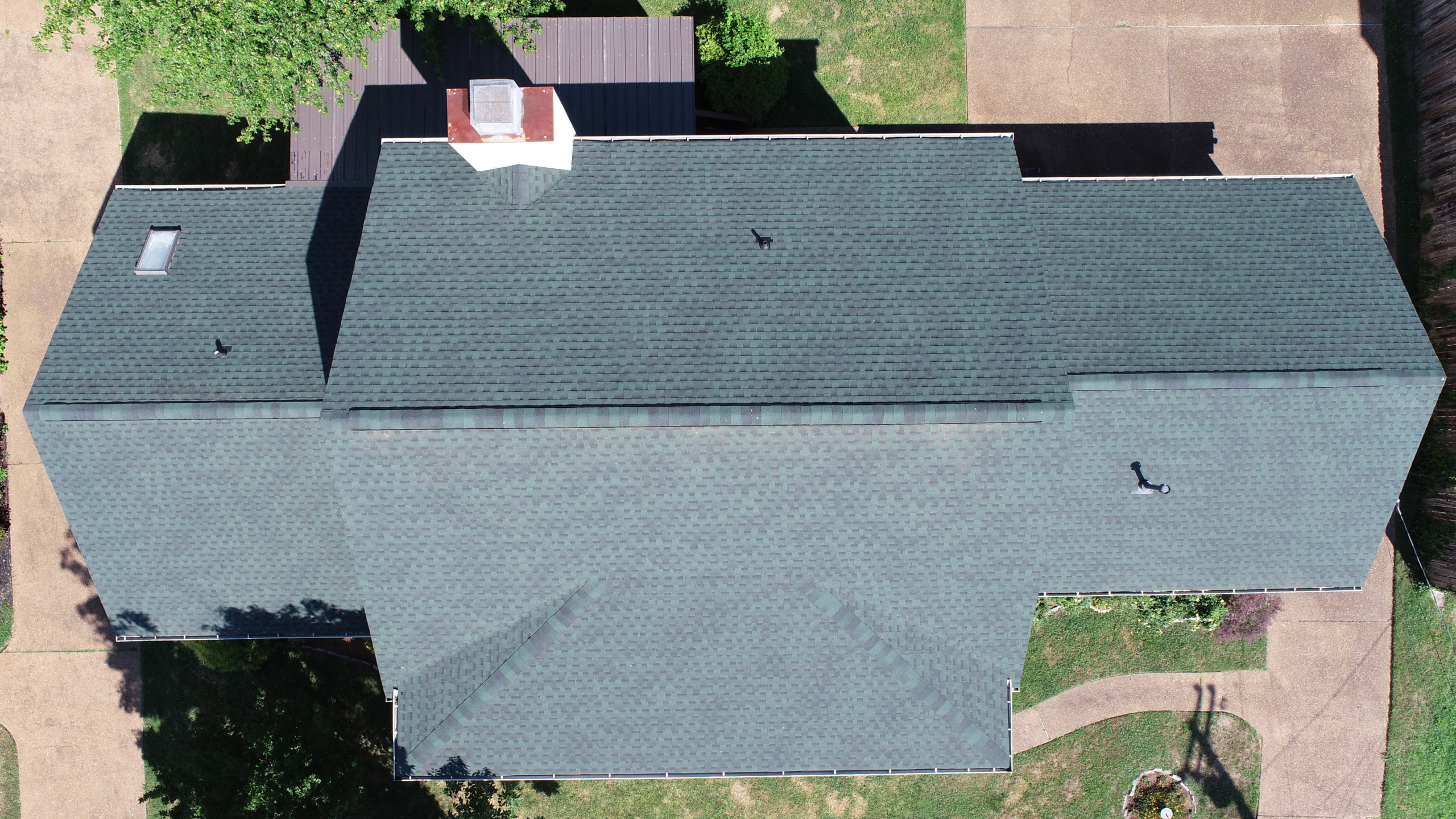 Murfreesboro Roofers GAF Timberline Hunter Green 5