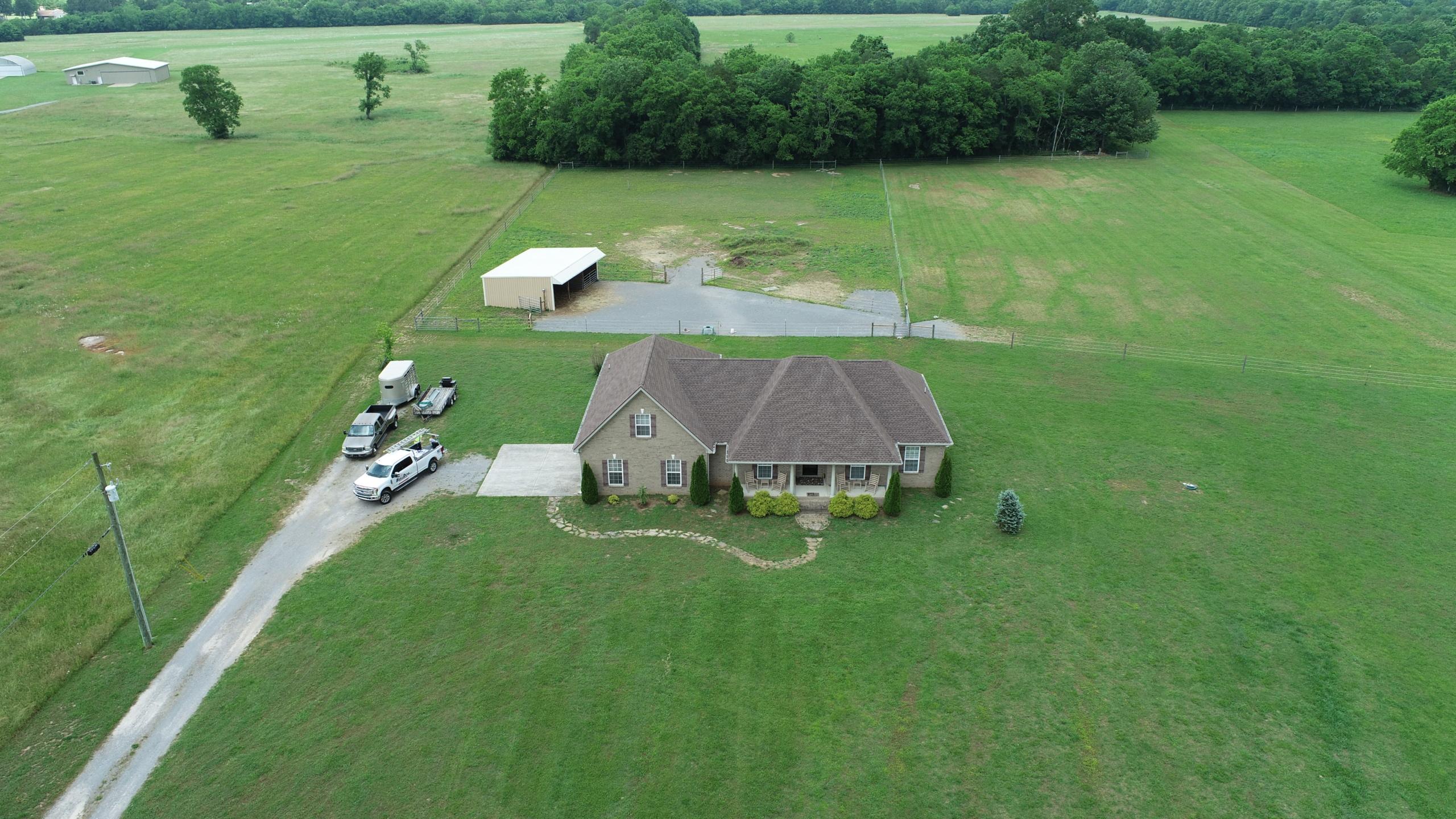 Murfreesboro Roofing Company GAF Barkwood Shingles 1