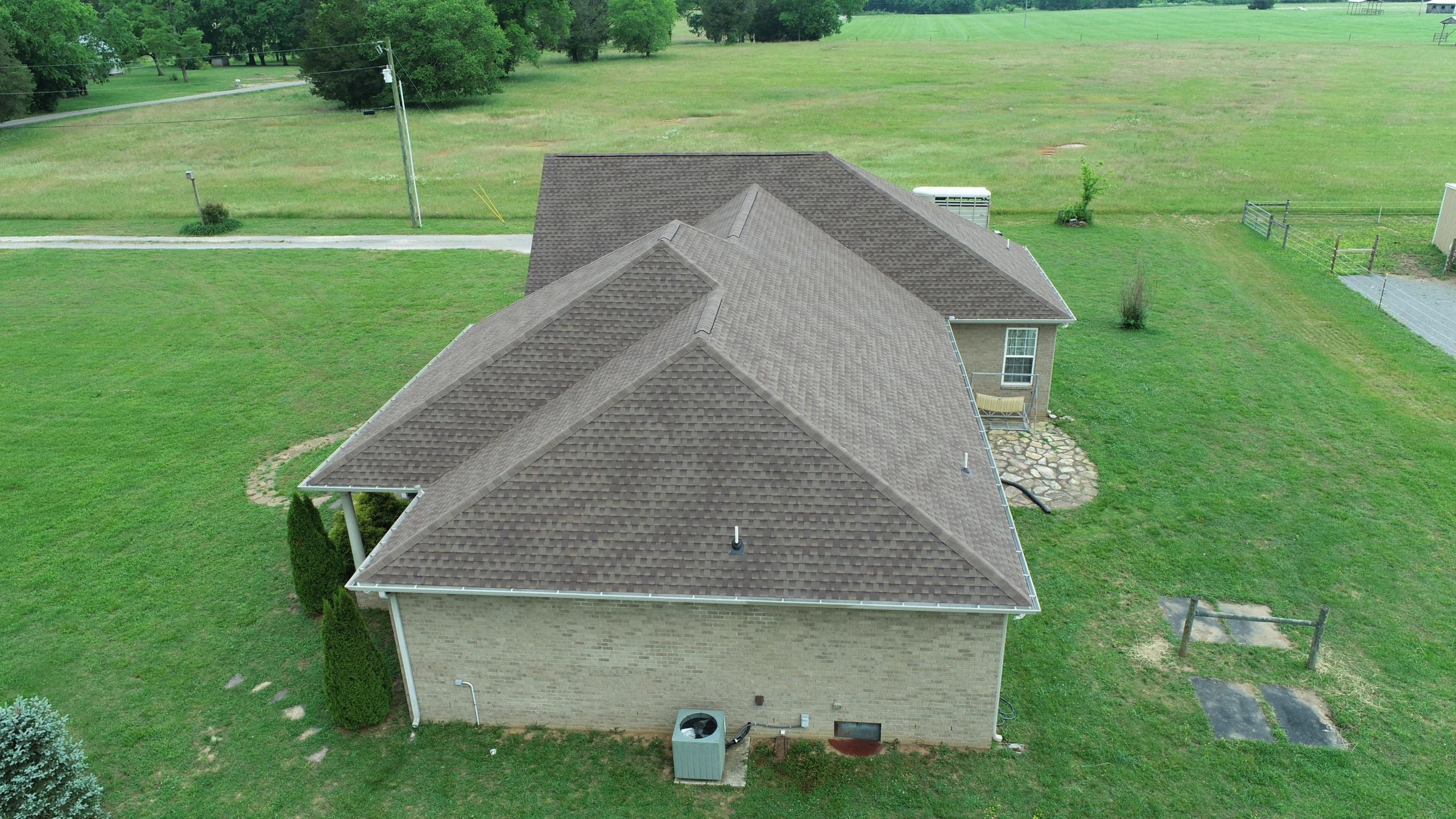 Murfreesboro Roofing Company GAF Barkwood Shingles 2