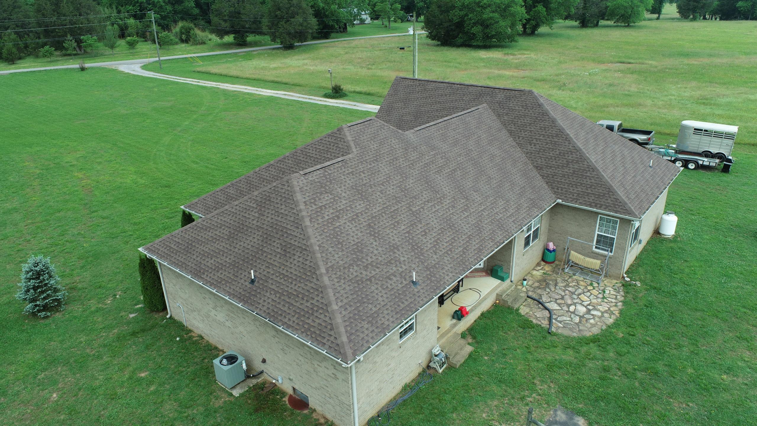 Murfreesboro Roofing Company GAF Barkwood Shingles 3