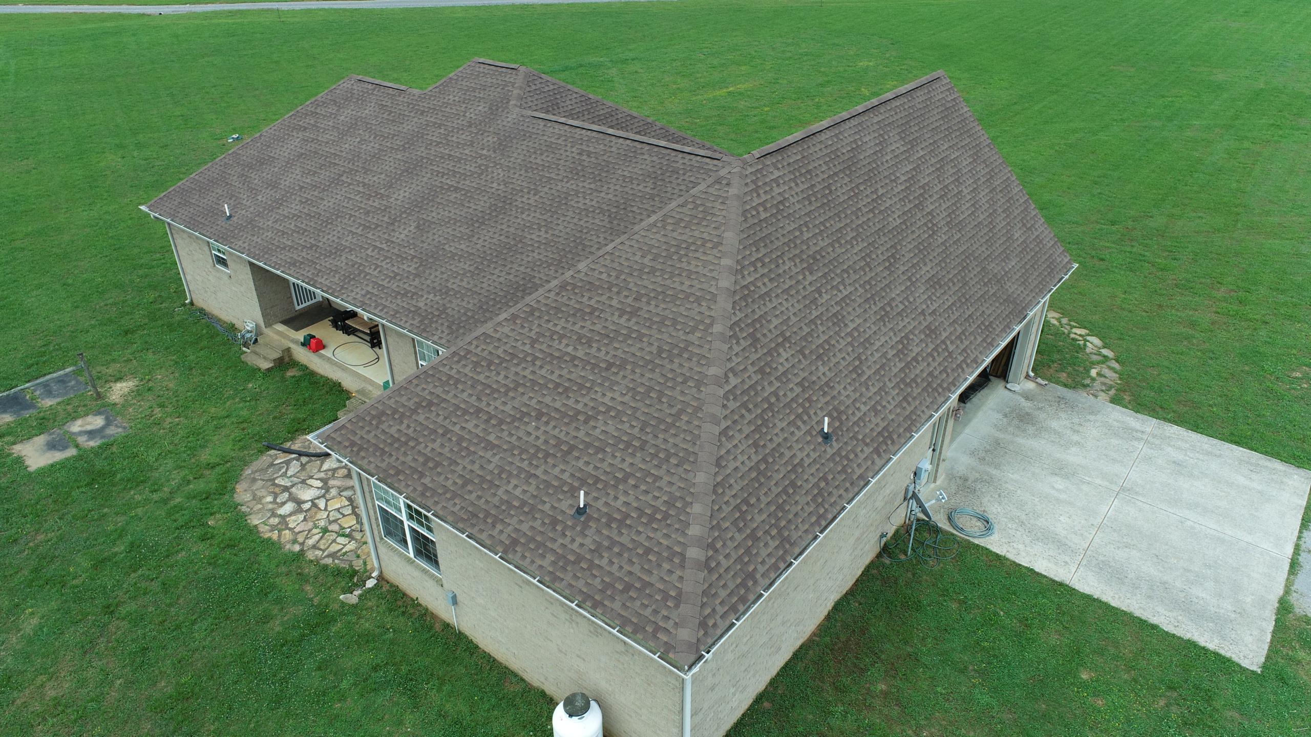 Murfreesboro Roofing Company GAF Barkwood Shingles 5