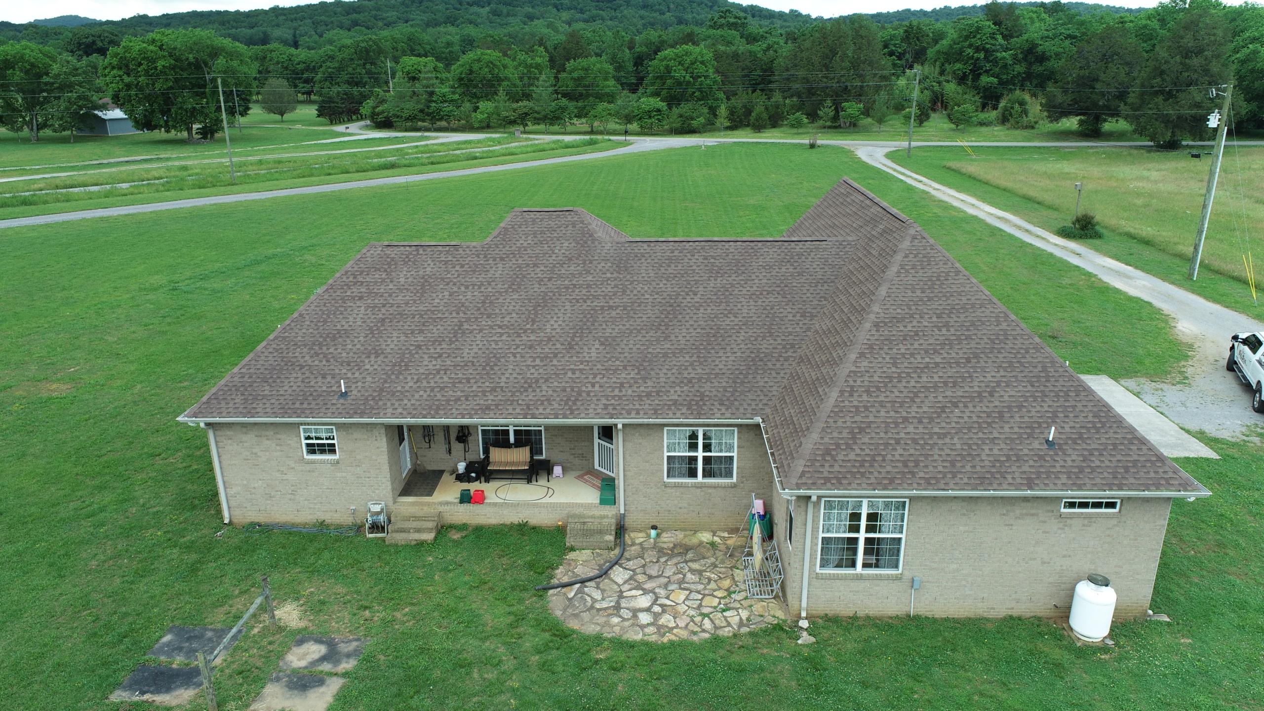 Murfreesboro Roofing Company GAF Barkwood Shingles 6