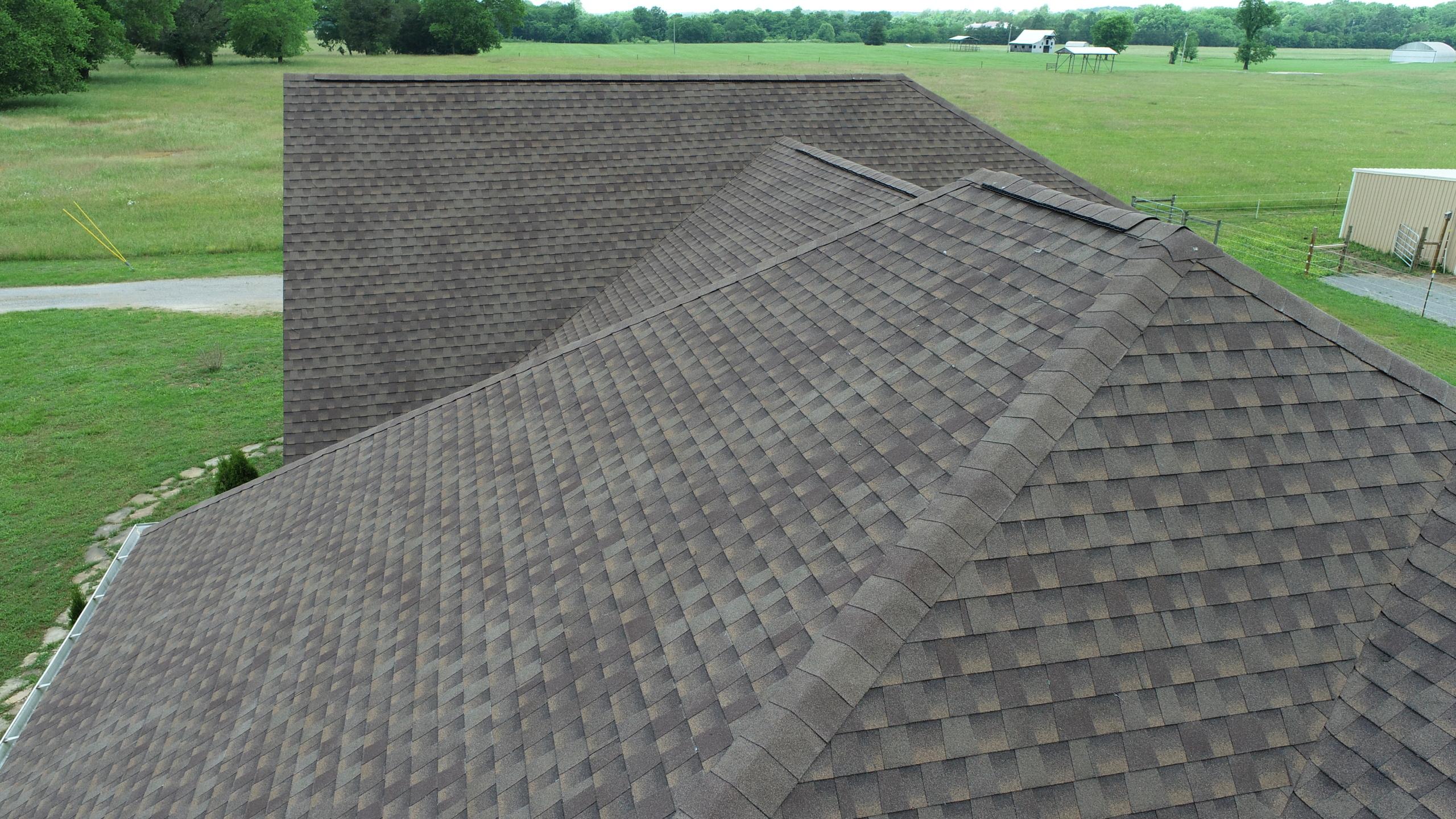 Murfreesboro Roofing Company GAF Barkwood Shingles 7