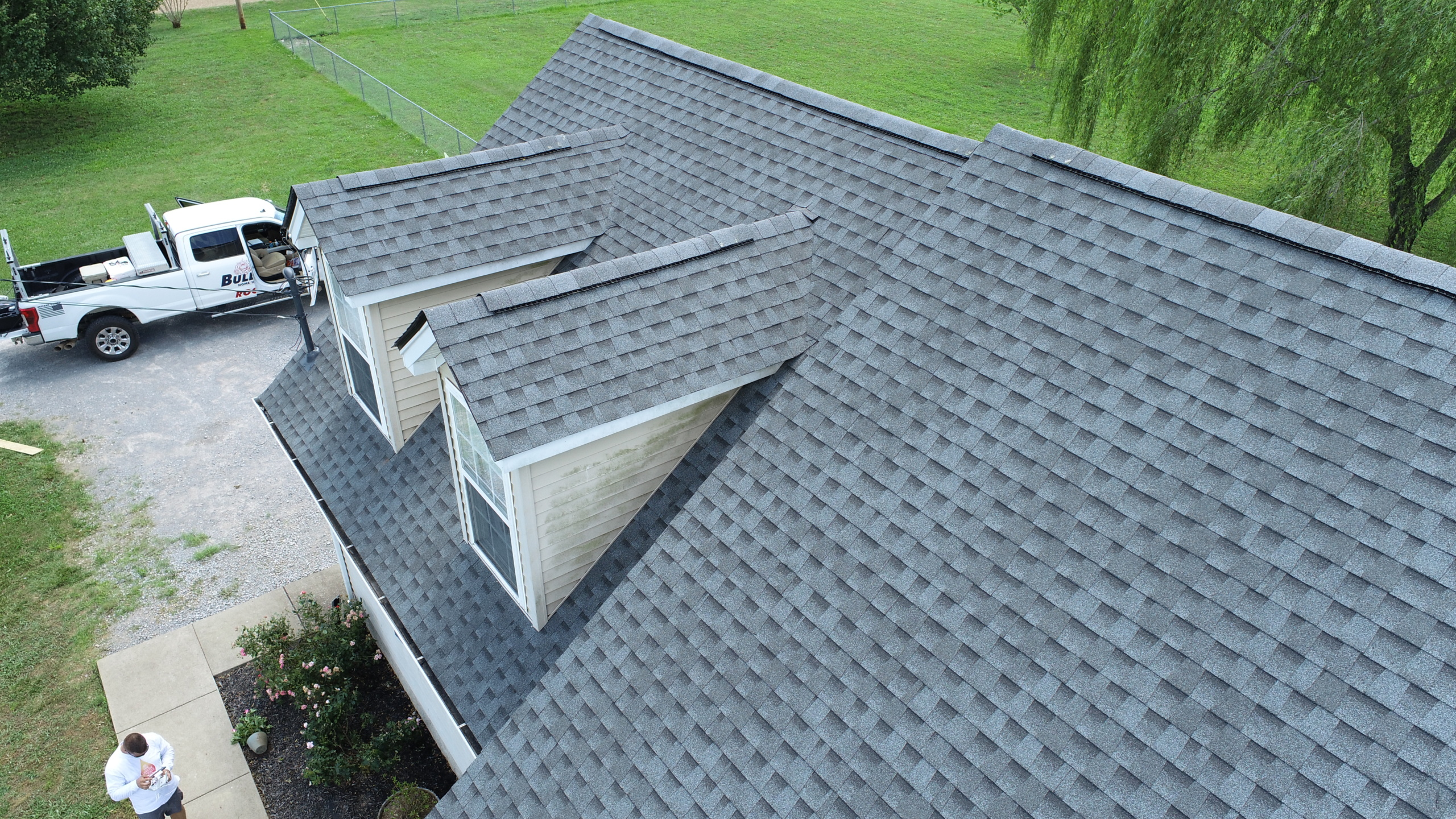 Roofing Murfreesboro GAF Pewter Gray Shingles 4