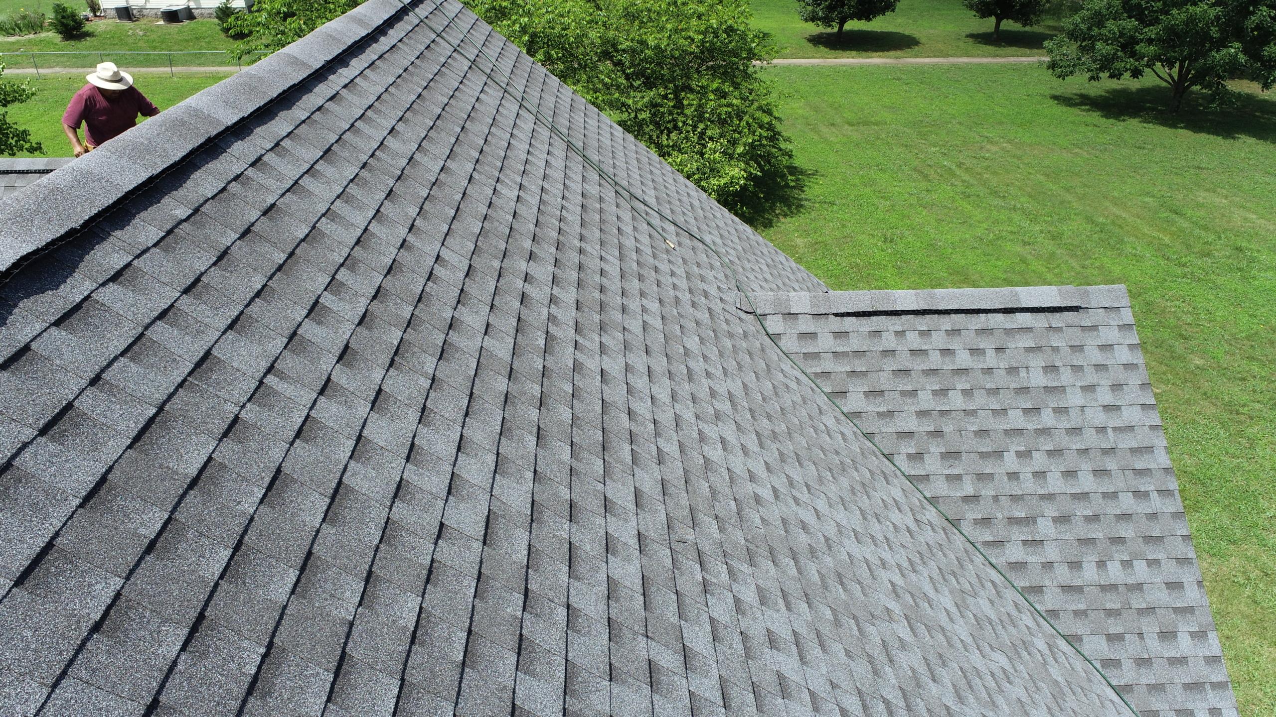 Roofing Murfreesboro GAF Pewter Gray Shingles 5