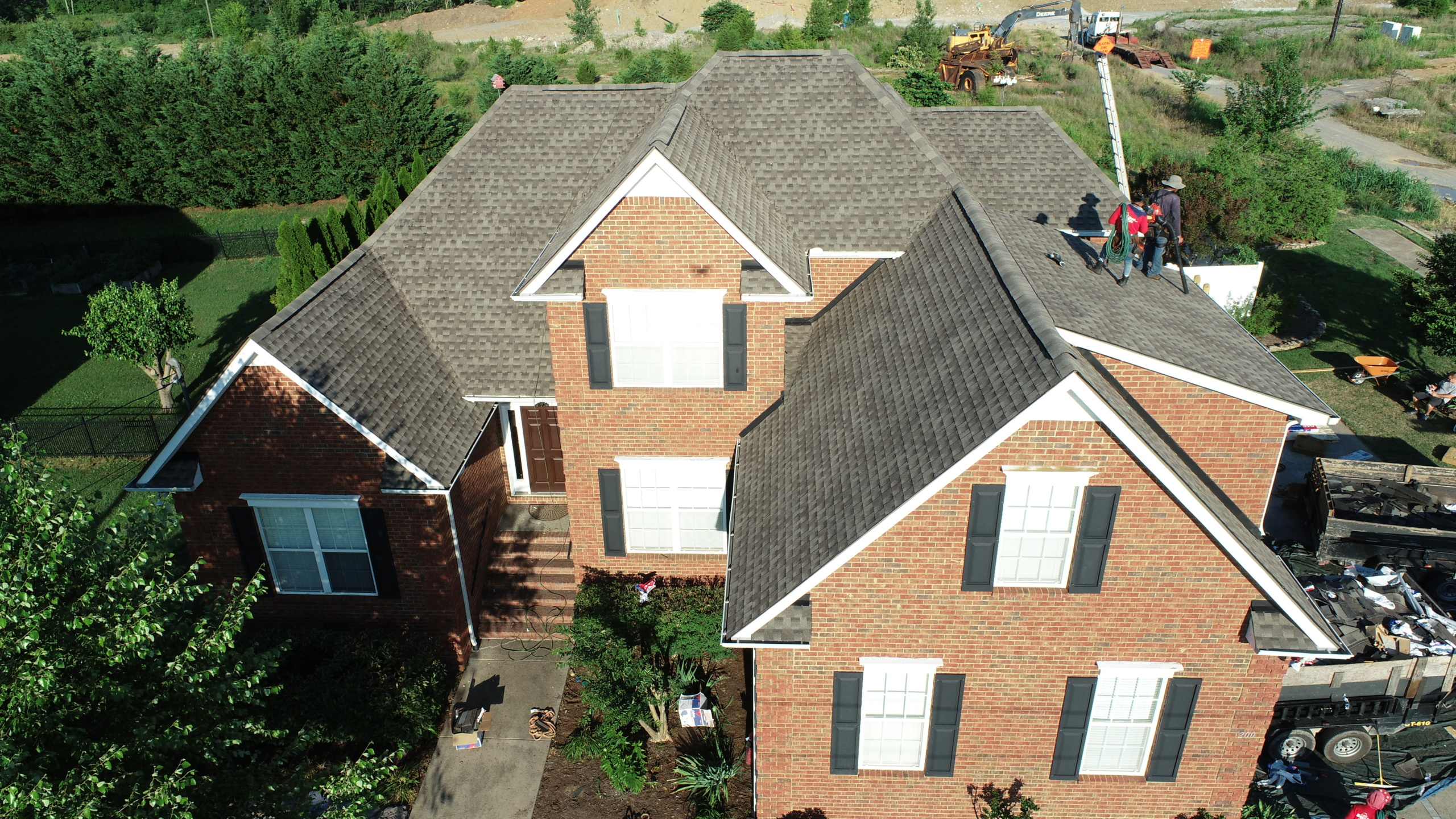 Roofing Murfreesboro GAF Weathered Wood Shingles 1