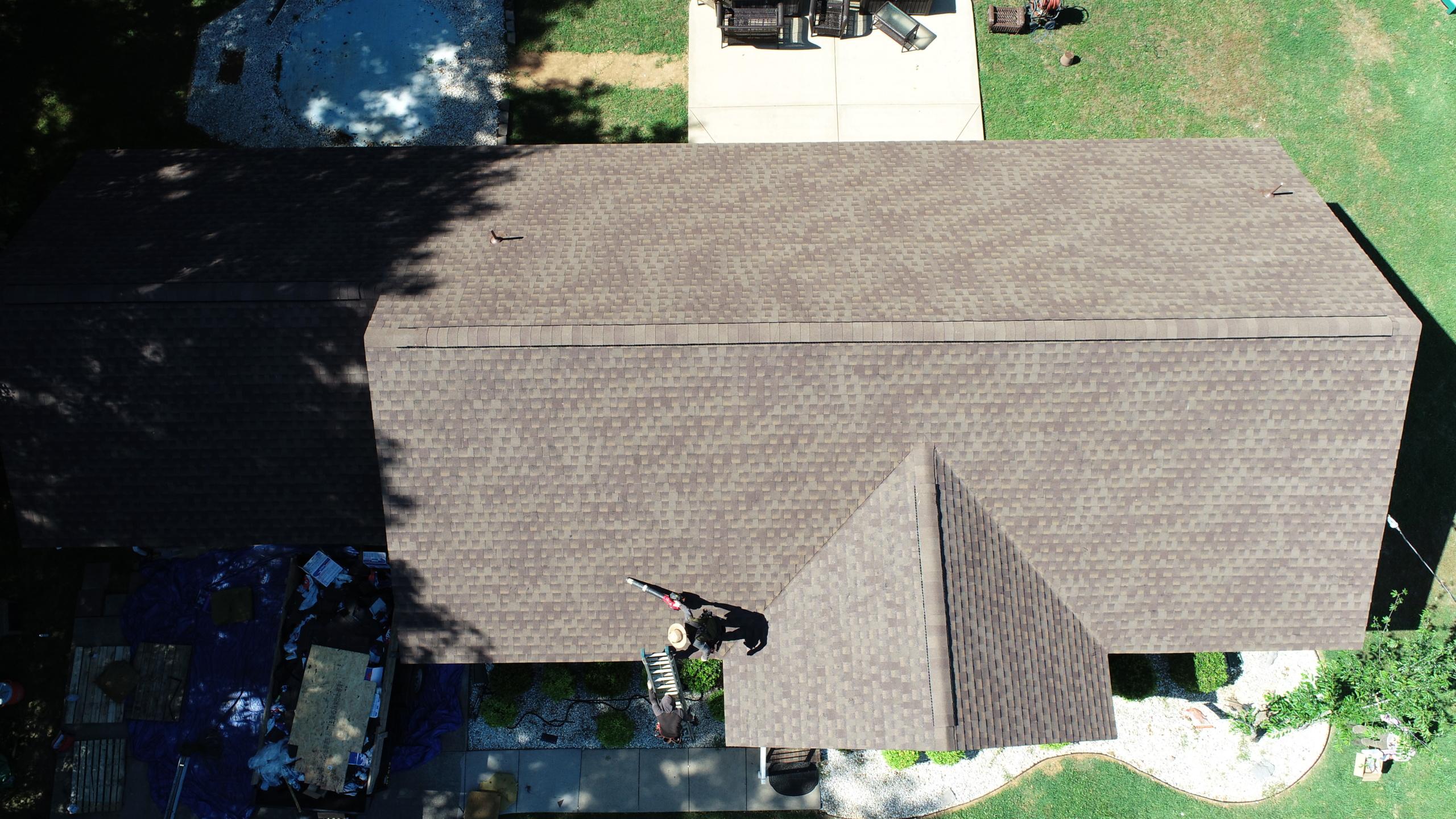 Murfreesboro Roofers GAF Timberline HDZ Barkwood 1