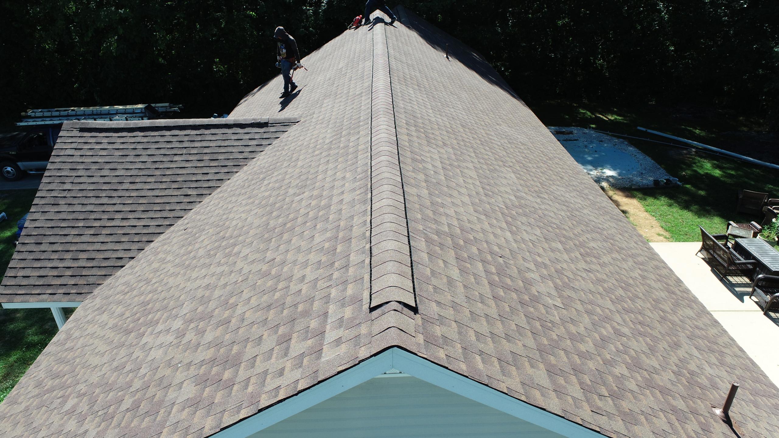 Murfreesboro Roofers GAF Timberline HDZ Barkwood 2