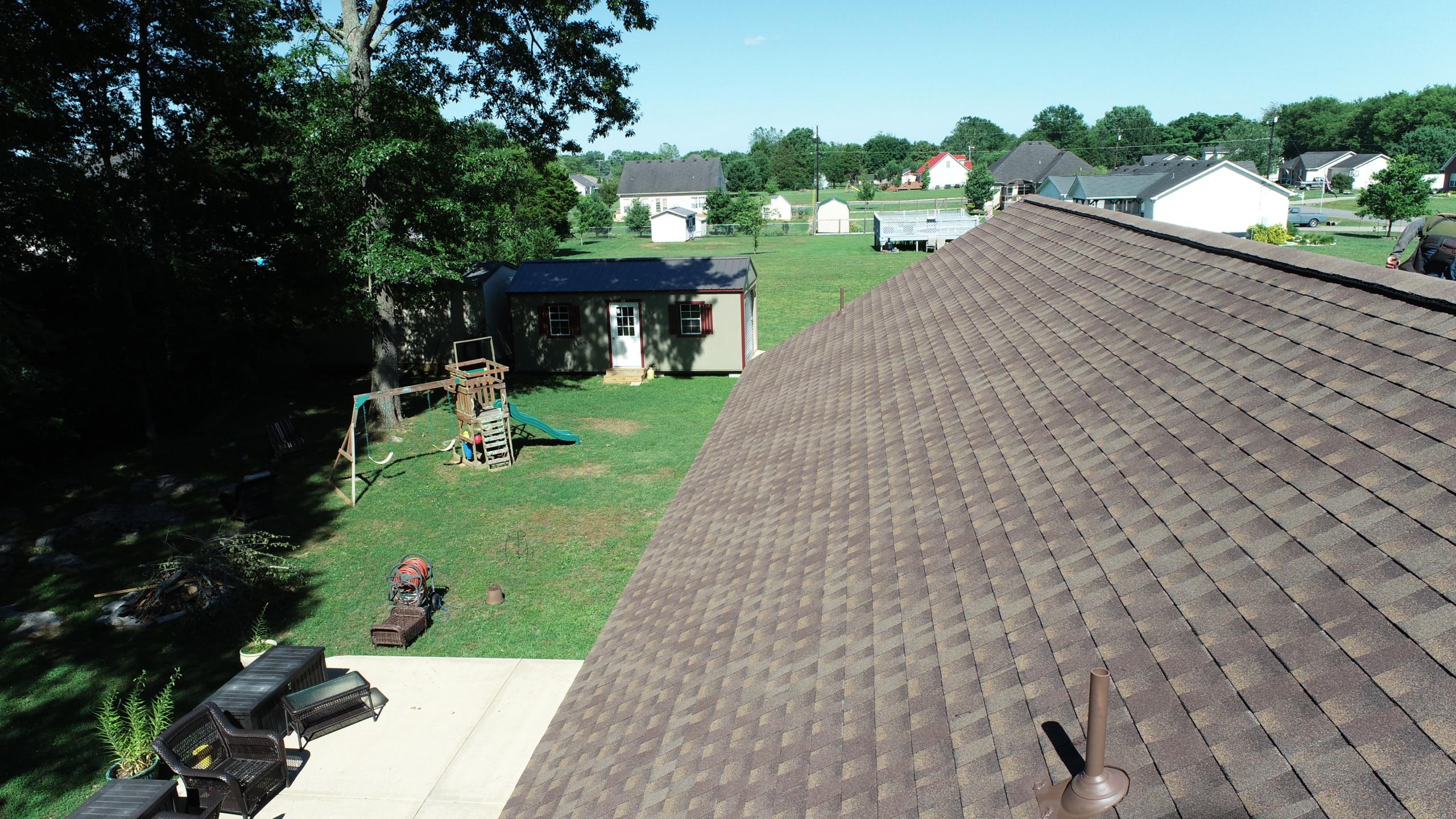 Murfreesboro Roofers GAF Timberline HDZ Barkwood 3