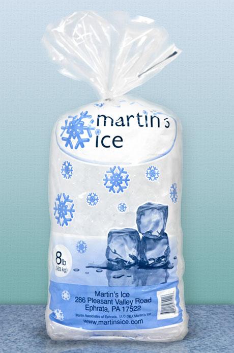 Martin's Ice 8lb Bag