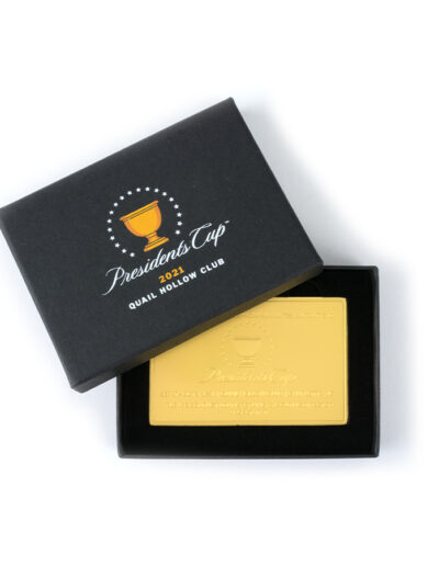 Presidents Cup Gold Card