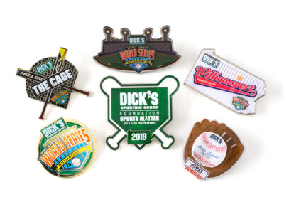 Dicks Sporting Goods Foundation Sports Pins