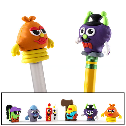 Germ Pencil Toppers