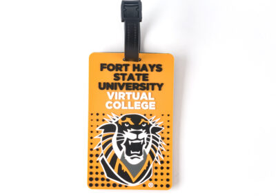 Fort Hays State University Virtual College Luggage Tag