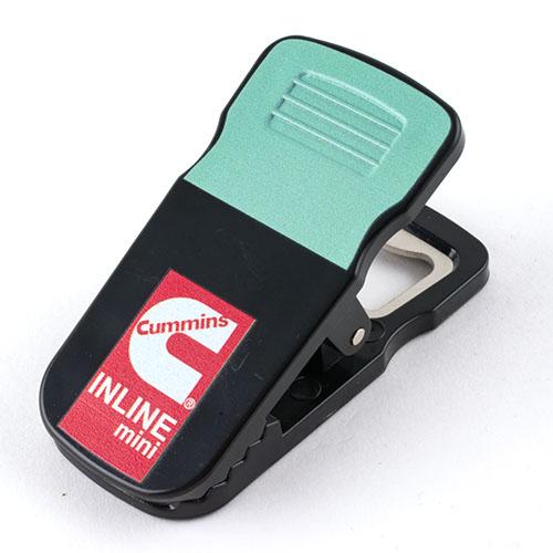 Cummins Inline Mini Bag Clip with Bottle Opener