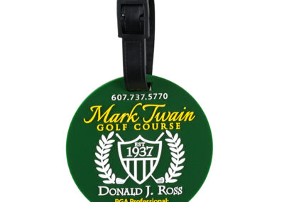 Mark Twain Golf Course Luggage Tag