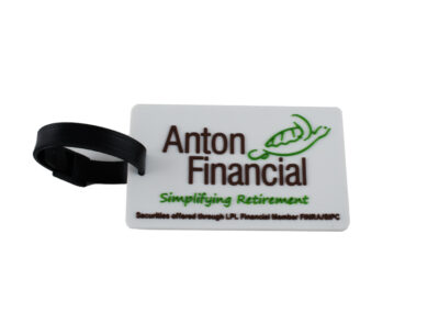 Anton Financial Luggage Tag