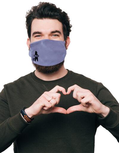 Heart Mask Guy