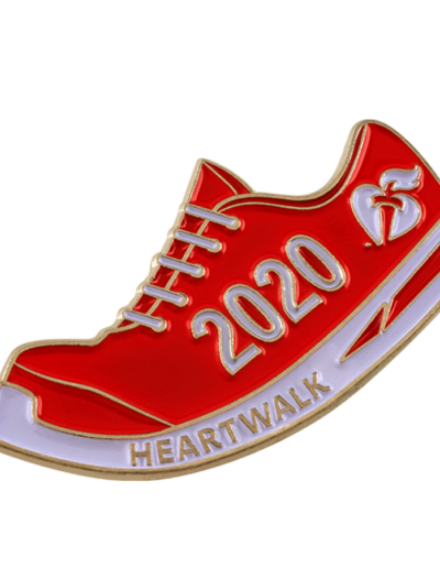 Heartwalk pin