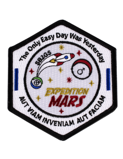 Expedition Mars Patch
