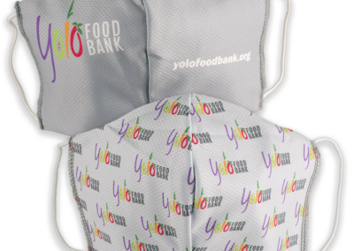 Yolo Food Bank Mask