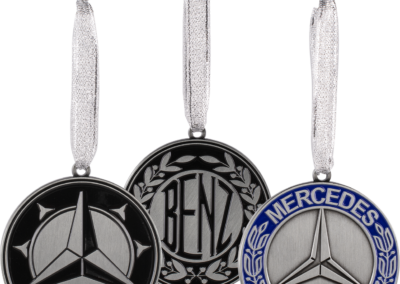 Mercedes Ornaments