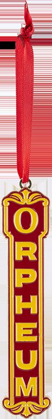 Orpheum Ornament